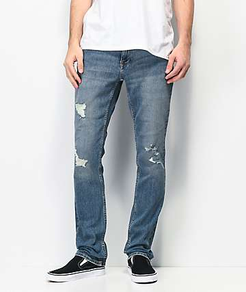 Freeworld Messenger Walken Stretch Skinny Jeans