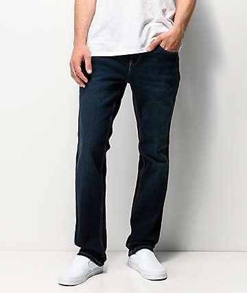 Freeworld Night Train League jeans elásticos azul oscuro
