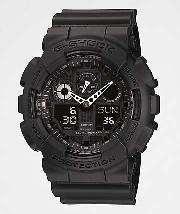 G-Shock GA100-1A1 X-Large Black Watch