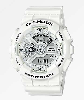 G-Shock GA110 Marine White Watch
