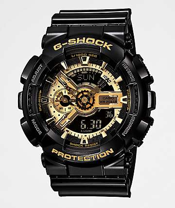 G-Shock GA110GB-1A Black & Gold Watch