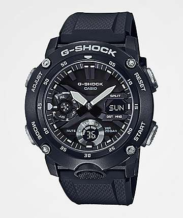 G-Shock GA2000S-1A Black Watch