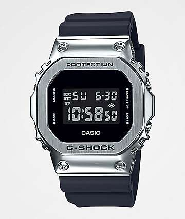 G-Shock GM5600 Silver & Black Digital Watch