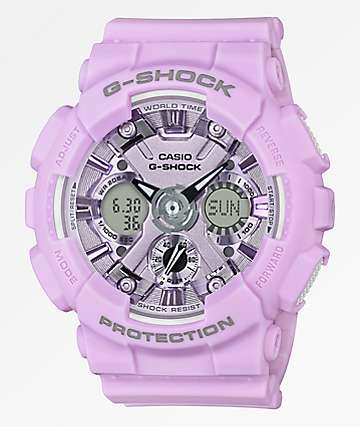 G-Shock GMAS120 Light Lavender Watch