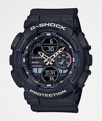 G-Shock GMAS140 Combination Grey & Pink Watch