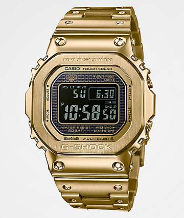 G-Shock GMWB5000 Gold Metal Digital Watch