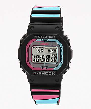 G-Shock x Gorillaz GWB5600 Black & Pink Digital Watch