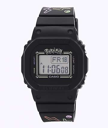 G-Shock x Pokemon Baby-G Pokemon Black Digital Watch