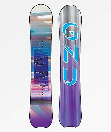 GNU Chromatic tabla de snowboard para mujeres