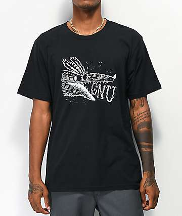 GNU Money Black T-Shirt