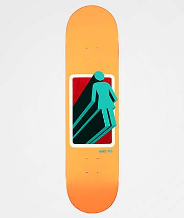 "Girl 3D OG Mike Mo 8.0"" Skateboard Deck"