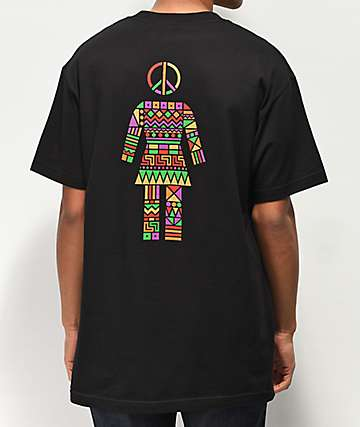 Girl Dashiki Black T-Shirt