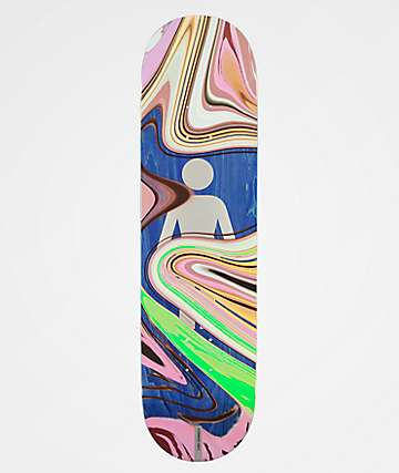 "Girl Kennedy Oil Slick 8.25"" Skateboard Deck"