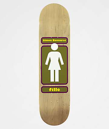 "Girl Simon 93 Til 8.0"" Skateboard Deck"
