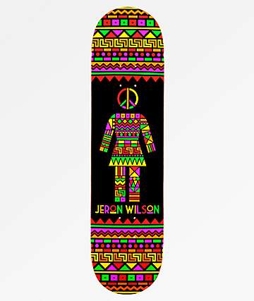 "Girl Wilson Dashiki 8.0"" Skateboard Deck"