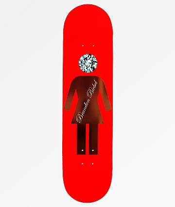 "Girl x Diamond Supply Co. Biebel 8.0"" Skateboard Deck"