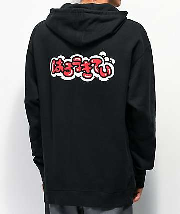 Girl x Hello Kitty 45th Anniversary Kitty Air Black Hoodie