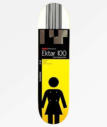 """Girl x Kodak Rick McCrank 8.12"""" Skateboard Deck"""