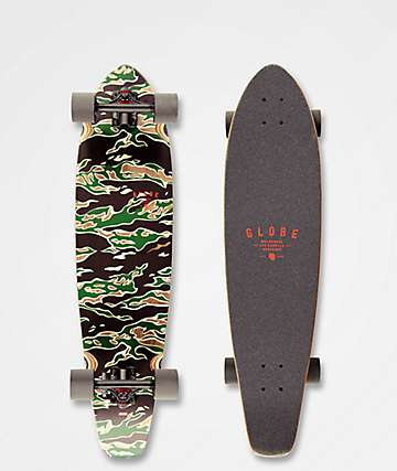 "Globe All Time Tiger Camo 35"" Longboard Complete"