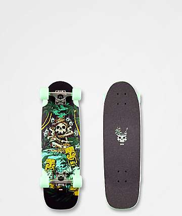 "Globe Fire Island By The Night 27"" Cruiser Complete Skateboard"