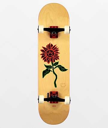 """Globe G2 Natural Bloom 8.0"""" Skateboard Complete"""