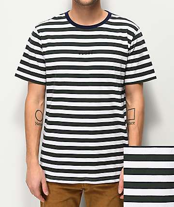 Globe Moonshine Green Stripe T-Shirt