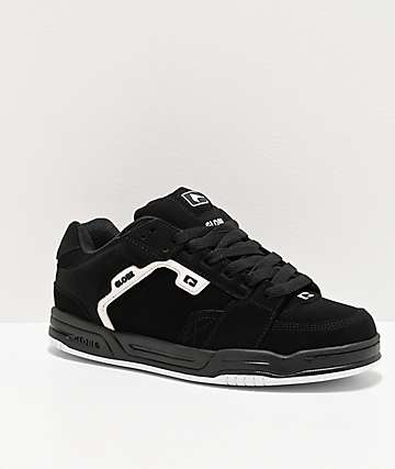 Globe Scribe Black & White Skate Shoes