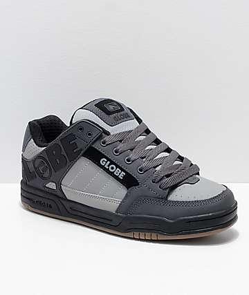 Globe Tilt Grey, Charcoal & Black Skate Shoes