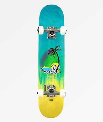 """Globe Victims Of Paradise 6.5"""" Micro Skateboard Complete"""