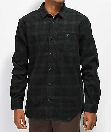 Globe x Brizabone Olive Long Sleeve Button Up Shirt