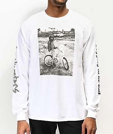 Gnarhunters Begging To Be Rad camiseta blanca de manga larga