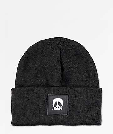 Gnarly Jersey Black Beanie