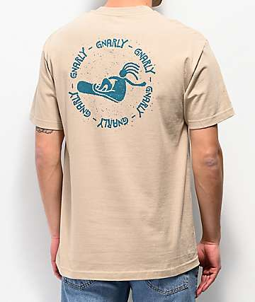 Gnarly Poke camiseta caqui
