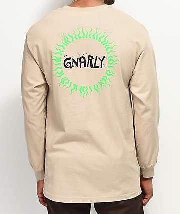 Gnarly Tribal Sun Sand Long Sleeve T-Shirt