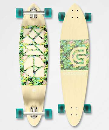 "Gold Coast Concrete Jungle 40"" Longboard Complete"
