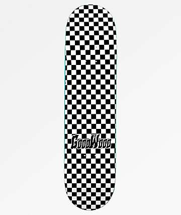 "Goodwood Checkers 8.0"" Skateboard Deck"