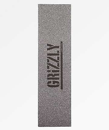 Grizzly Glitter Silver Grip Tape