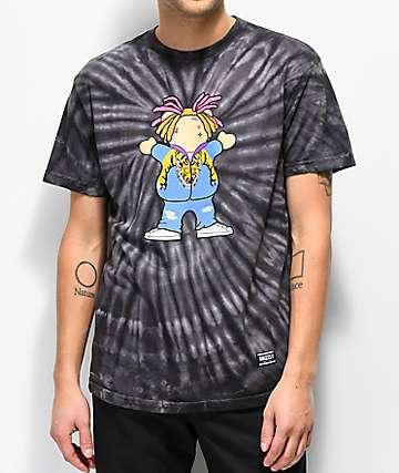Grizzly Lil P Black Tie Dye T-Shirt