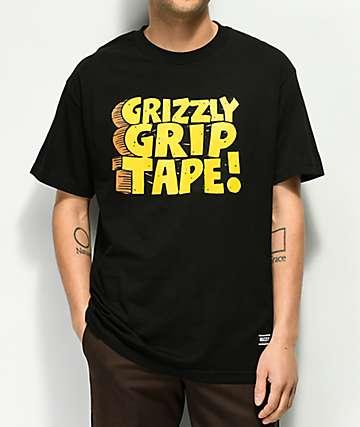 Grizzly Nostalgic Black T-Shirt
