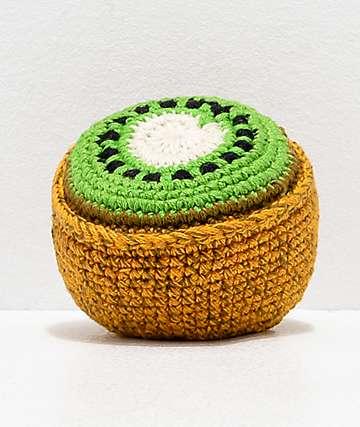 Guatemalart Kiwi Crochet Hacky Sack