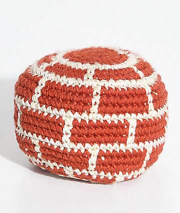 Guatemalart Red Bricks Hacky Sack