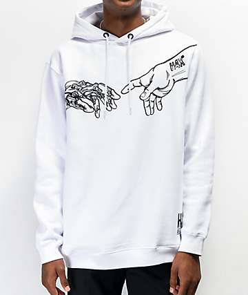 H4X Creation White Hoodie
