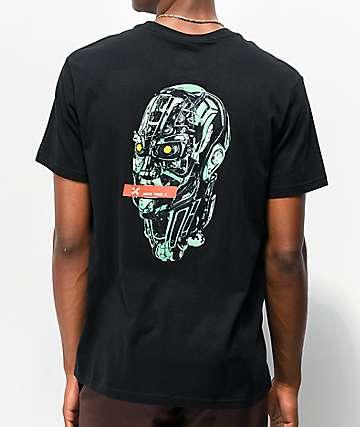 H4X Cyborg camiseta negra