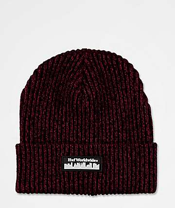 HUF Boroughs Poppy Beanie