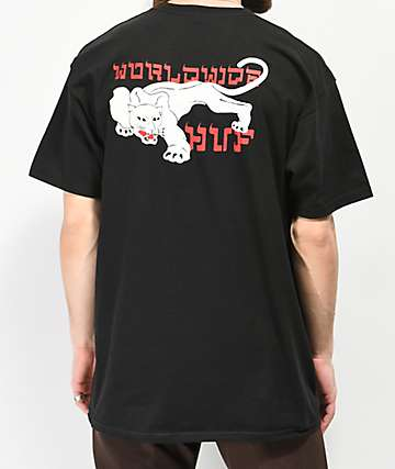 HUF Burmese Black T-Shirt