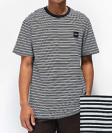 HUF Dazed camiseta blanca y negra