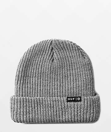 HUF Essentials Usual Grey Beanie