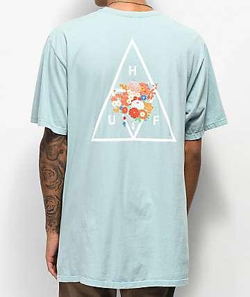 HUF Memorial Triangle Blue T-Shirt