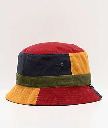 HUF Mendoza Colorblock Corduroy Bucket Hat