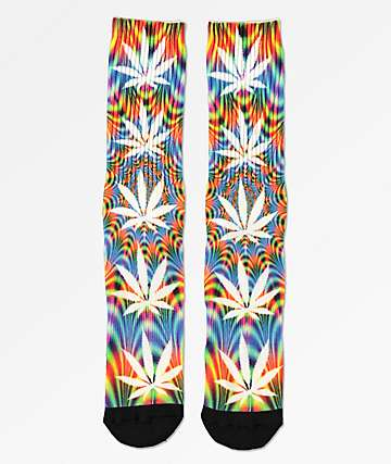 HUF Plantlife All The Lights calcetines